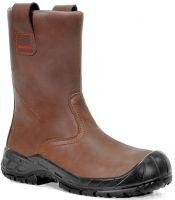 ELTEN-S3-CI-Winter-Sicherheits-Arbeits-Berufs-Schuhe, Schlupfstiefel, RIGGER BOOT ESD, CI, braun