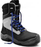 ELTEN-S3-CI-Winter-Sicherheits-Arbeits-Berufs-Schuhe, Schnürstiefel, JONTE HIGH ESD CI, schwarz/grau