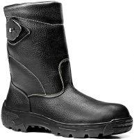 ELTEN-S3-HI-Sicherheits-Arbeits-Berufs-Stiefel, Schlupfstiefel, STAN HI, schwarz