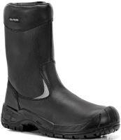 ELTEN-S3 CI-Winter-Sicherheits-Arbeits-Berufs-Schuhe, Schlupfstiefel, WILL, schwarz