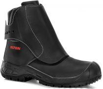 ELTEN-S3-HI-Schweißer-Sicherheits-Arbeits-Berufs-Schuhe, Schlupf-Stiefel, Giesserstiefel, LUIS, HI, schwarz