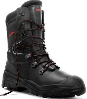 ELTEN-S3 CI-Schnittschutz-Sicherheits-Arbeits-Berufs-Schuhe, Winter-Schnürstiefel, ARBORIST, GTX, schwarz