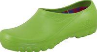 ALSA-PU-Clog, Damen-Arbeits-Berufs-Clogs, Jolly Fashion, hellgrün