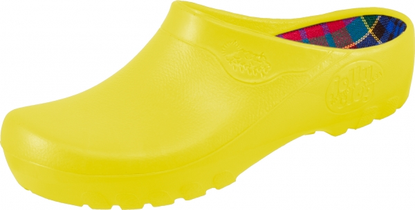 ALSA-PU-Arbeits-Berufs-Clogs,  Alsa Jolly Fashion, gelb