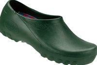 ALSA-PU-Arbeits-Berufs-Clogs, Jolly Fashion, grün
