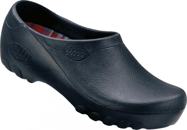 ALSA-PU-Arbeits-Berufs-Clogs, Jolly Fashion, blau