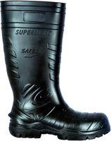 COFRA-SAFEST BLACK S5 CI SRC, Sicherheits-Arbeits-Berufs-Gummi-Stiefel, schwarz