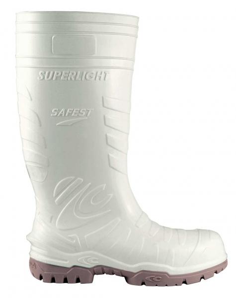 COFRA-SAFEST WHITE S5 CI SRC, Sicherheits-Arbeits-Berufs-Gummi-Stiefel, weiß
