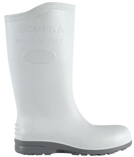 COFRA-ECLYPSE S5, SRC, Sicherheits-Arbeits-Berufs-Gummi-Stiefel, weiß