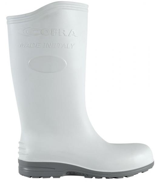 COFRA-ECLYPSE S4, SRC, Sicherheits-Arbeits-Berufs-Gummi-Stiefel, weiß