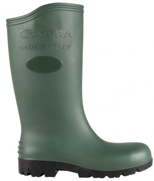 COFRA-ASTEROID GREEN S5 SRC, Sicherheits-Arbeits-Berufs-Gummi-Stiefel, grün
