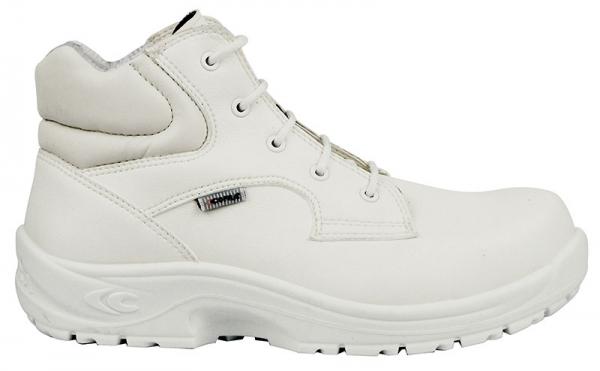 COFRA-ROMULUS S2 SRC, Sicherheits-Arbeits-Berufs-Schuhe, Hochschuhe, weiß