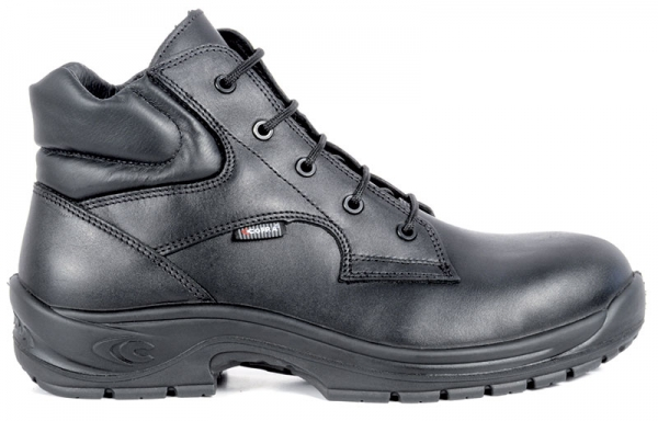 COFRA-PICKET S3 HRO SRC, Sicherheits-Arbeits-Berufs-Schuhe, Hochschuhe, schwarz