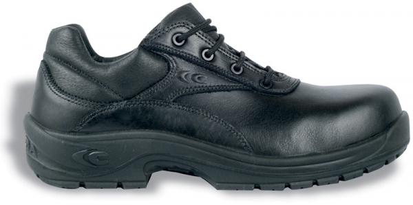 COFRA-ALEXANDER S3 HRO SRC, Sicherheits-Arbeits-Berufs-Schuhe, Halbschuhe, schwarz