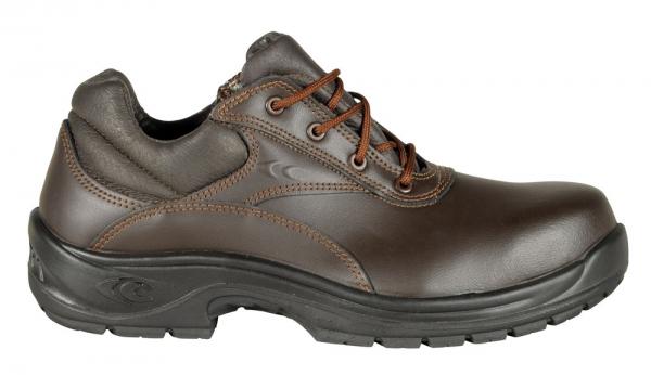 COFRA-AURELIUS S3  HRO SRC, Sicherheits-Arbeits-Berufs-Schuhe, Halbschuhe, braun