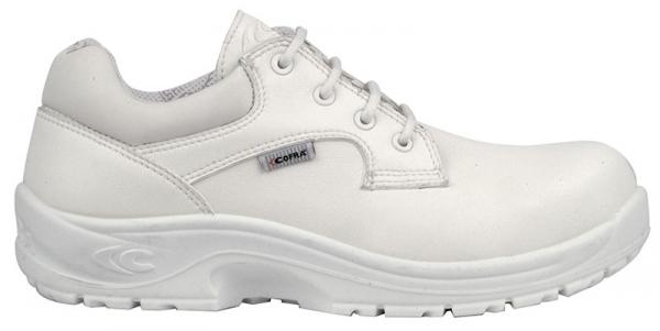 COFRA-REMUS S2 SRC, Sicherheits-Arbeits-Berufs-Schuhe, Halbschuhe, weiß