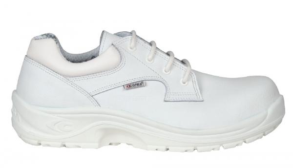 COFRA-ADRIANUS WHITE S2 SRC, Sicherheits-Arbeits-Berufs-Schuhe, Halbschuhe, weiß