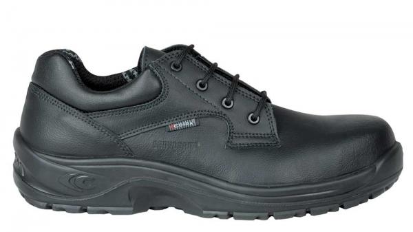 COFRA-ADRIANUS BLACK S2 SRC, Sicherheits-Arbeits-Berufs-Schuhe, Halbschuhe, schwarz