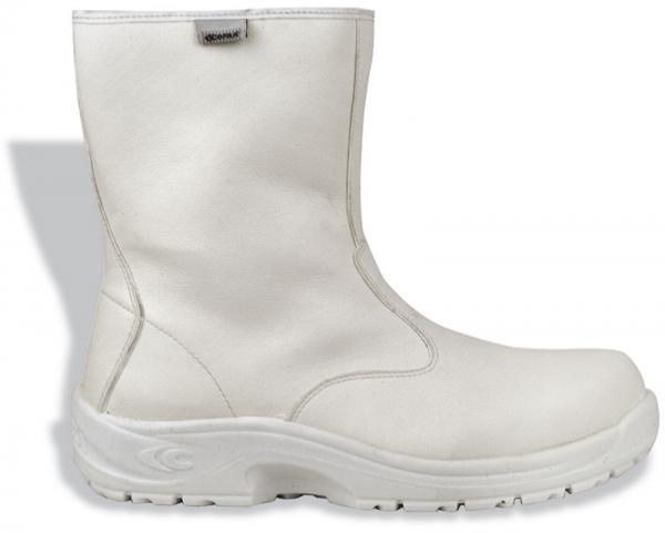 COFRA-TARQUINIUS S2 WR SRC, Sicherheits-Arbeits-Berufs-Schuhe, hoch, weiß