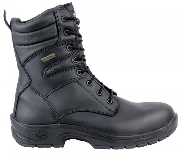 COFRA-OFFICER, O2, WR HRO SRC FO, Sicherheits-Arbeits-Berufs-Schuhe, Schnürstiefel, hoch, schwarz