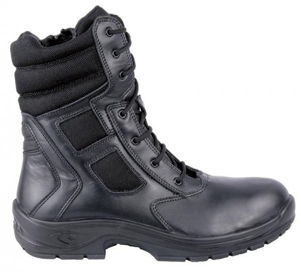 COFRA-ATTACK, O2, HRO SRC FO, Sicherheits-Arbeits-Berufs-Schuhe, Schnürstiefel, hoch, schwarz
