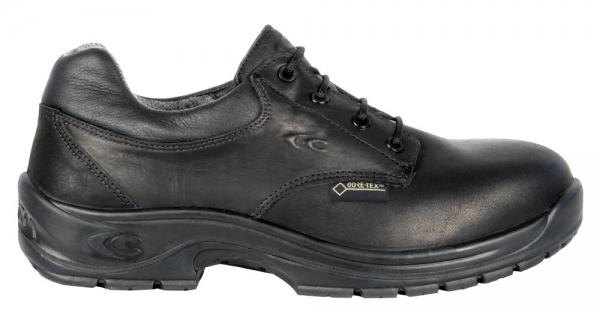 COFRA-UNIFORM, O2, WR, HRO SRC FO, Sicherheits-Arbeits-Berufs-Schuhe, Schnür-Halbschuhe, schwarz