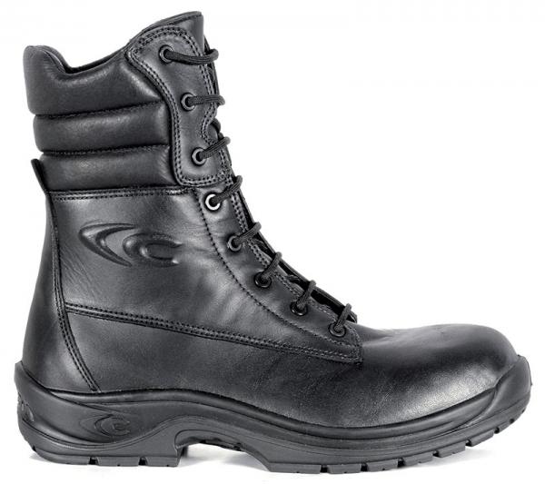 COFRA-MEDAL, O2, FO HRO SRC, Sicherheits-Arbeits-Berufs-Schuhe, Schnürschuhe, hoch, schwarz