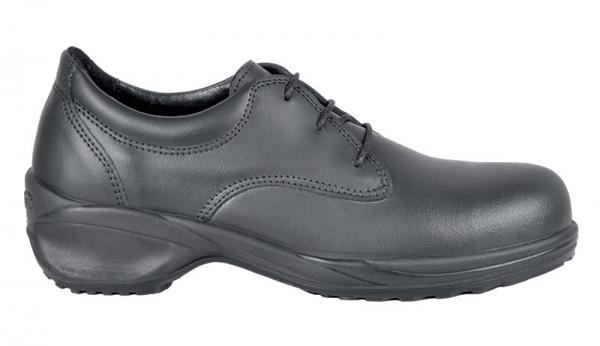 COFRA-BEATRICE S3 SRC, Sicherheits-Arbeits-Berufs-Schuhe, Halbschuhe, schwarz