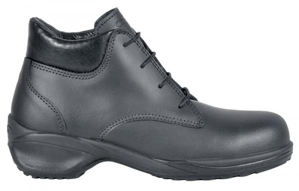 COFRA-ELAINE S3 SRC, Sicherheits-Arbeits-Berufs-Schuhe, Hochschuhe, schwarz
