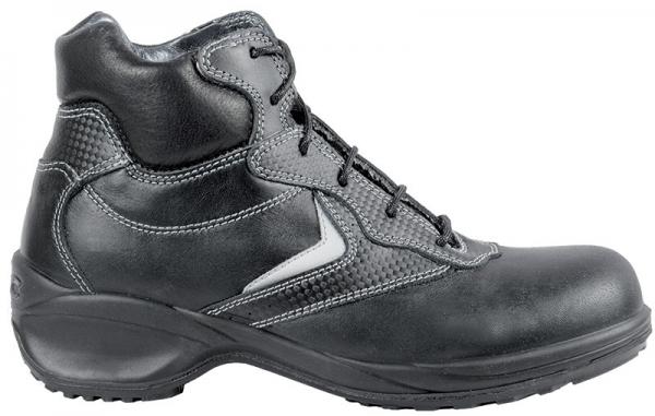 COFRA-ANISE S3 SRC, Sicherheits-Arbeits-Berufs-Schuhe, Hochschuhe, schwarz