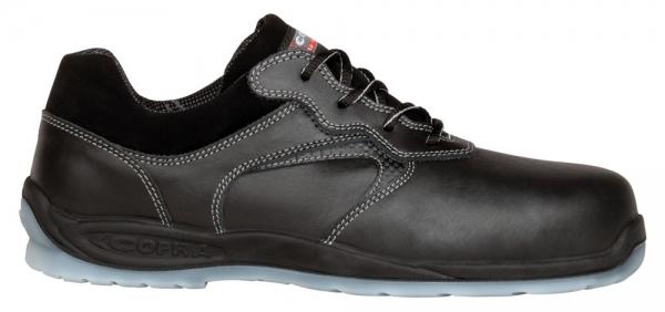 COFRA-BESSEL S3, CI SRC, Sicherheits-Arbeits-Berufs-Schuhe, Halbschuhe, blau