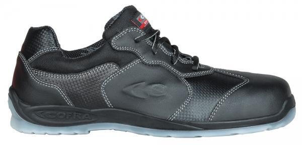 COFRA-BLACKETT S1P SRC, Sicherheits-Arbeits-Berufs-Schuhe, Halbschuhe, blau