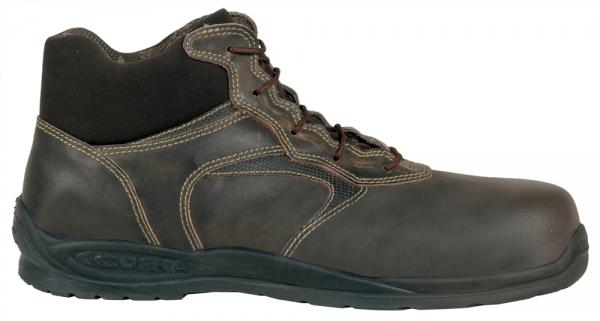 COFRA-BERNOULLI S3, CI SRC, Sicherheits-Arbeits-Berufs-Schuhe, Schnürstiefel, hoch, schwarz
