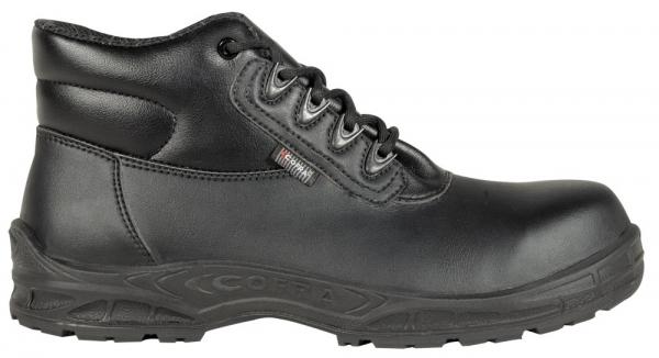 COFRA-S3-Sicherheitsschuhe, ETHYL BLACK, SRC, hoch, schwarz