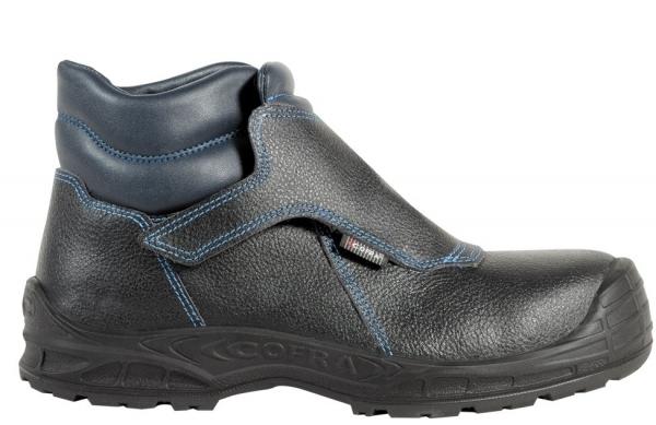 COFRA-LA CORUNA UK S3, SRC, Schweißer-Sicherheits-Arbeits-Berufs-Schuhe, Hochschuhe, Farbe: schwarz