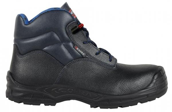 COFRA-S3-Sicherheitsschuhe, TRIESTE BLUE UK, SRC, hoch, schwarz/blau