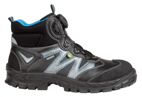 COFRA-BRAHMA, S3, ESD, SRC, Sicherheits-Arbeits-Berufs-Schuhe, Hochschuhe, schwarz