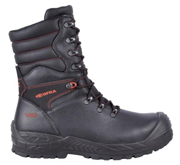 COFRA-MUSPELL, S3, CI, WR, HRO, SRC, Sicherheits-Arbeits-Berufs-Schuhe, Schnürstiefel, schwarz