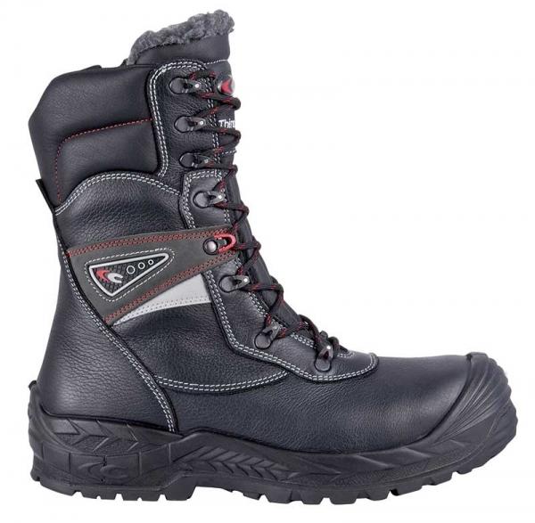 COFRA-FUNDINN, S3, CI, WR, HRO, SRC, Sicherheits-Arbeits-Berufs-Schuhe, Schnürstiefel, schwarz