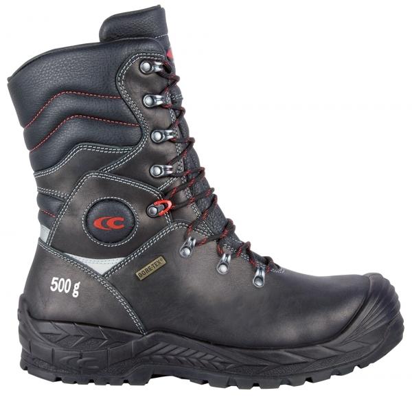 COFRA-BRIMIR, S3, CI, WR, HRO, SRC, Sicherheits-Arbeits-Berufs-Schuhe, Schnürstiefel, schwarz