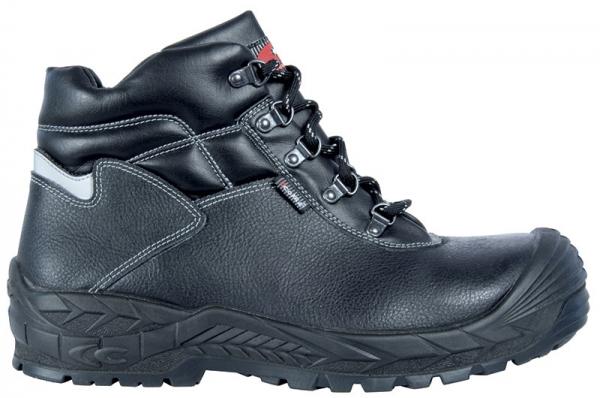COFRA-SCAFFOLD, S3, HRO, SRC, Schweißer-Sicherheits-Arbeits-Berufs-Schuhe, Schnürschuhe, hoch, schwarz