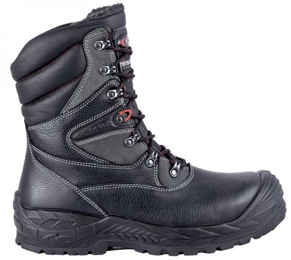 COFRA-NIKKAR, S3, CI, WR, HRO, SRC, Sicherheits-Arbeits-Berufs-Schuhe, Schnürstiefel, schwarz