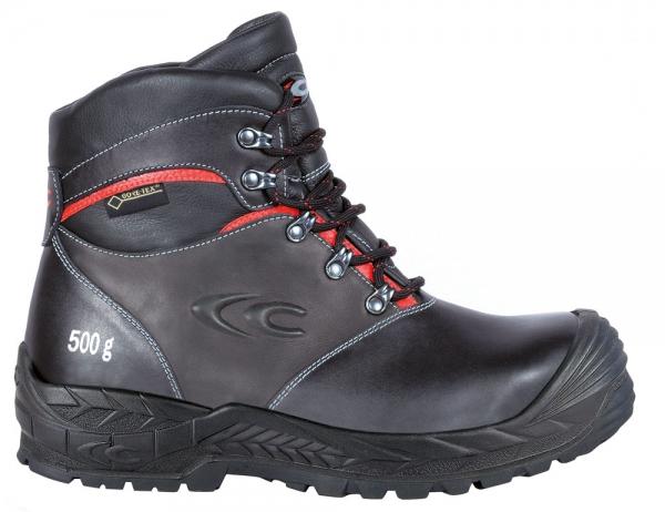 COFRA-GLENR, S3, CI, WR, HRO, SRC, Sicherheits-Arbeits-Berufs-Schuhe, Hochschuhe, schwarz