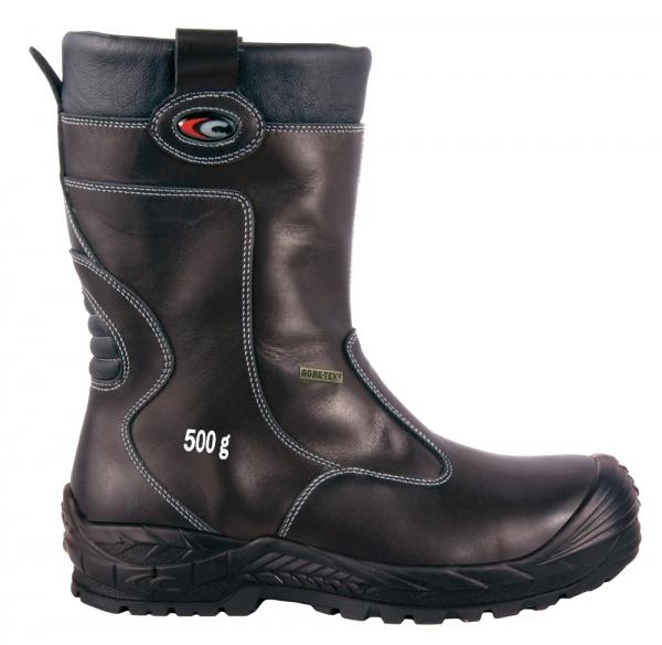 COFRA-GULLVEIG, S3, CI, WR, HRO, SRC, Sicherheits-Arbeits-Berufs-Schuhe, Schlupfstiefel, schwarz