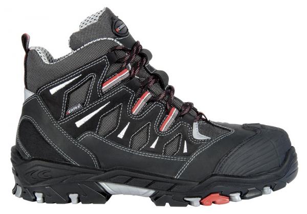 COFRA-BERSEK S3 SRC, Sicherheits-Arbeits-Berufs-Schuhe, Hochschuhe, schwarz