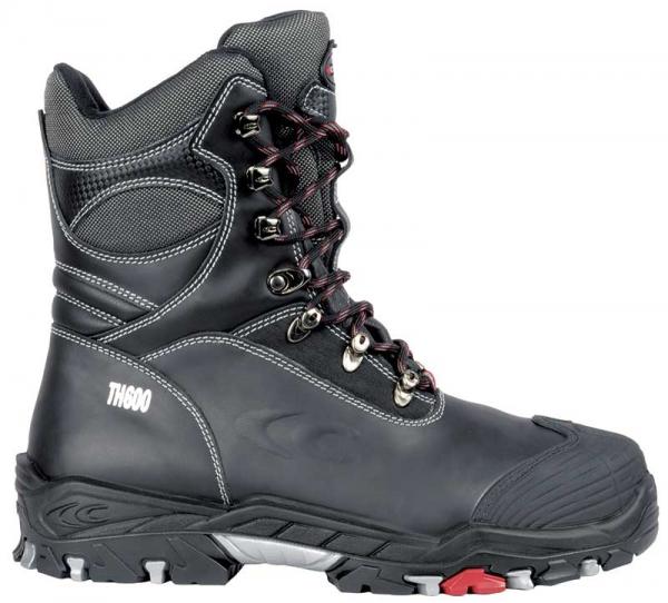 COFRA-BERING BIS S3 WR CI SRC, Winter-Sicherheits-Arbeits-Berufs-Schuhe, Schnürstiefel, schwarz