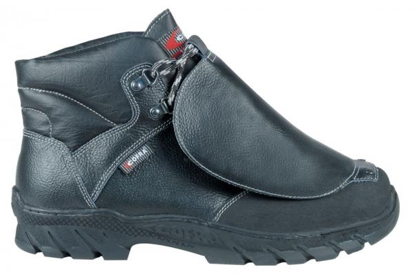 COFRA-Seikan S3 M HI CI HRO SRC, Sicherheits-Arbeits-Berufs-Schuhe, Hochschuhe, schwarz