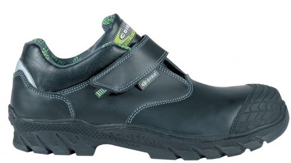 COFRA-LIYAMA S3 HI CI HRO SRC, Sicherheits-Arbeits-Berufs-Schuhe, halb, schwarz