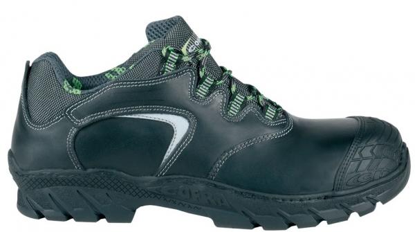 COFRA-FURKA S3 HI CI HRO SRC, Sicherheits-Arbeits-Berufs-Schuhe, halb, schwarz