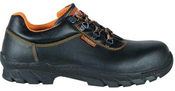 COFRA-CAPOVERDE S3 HI CI HRO SRC, Sicherheits-Arbeits-Berufs-Schuhe, halb, schwarz